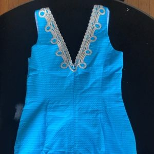 Lilly Pulitzer Dresses - Lilly Pulitzer - Bentley Shift - Searulean Blue